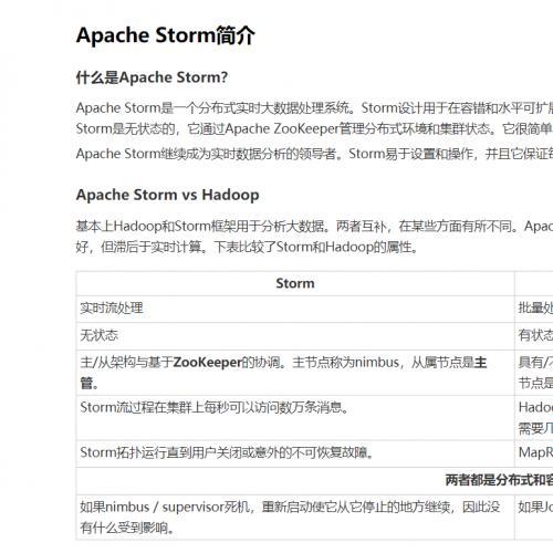 4.44G 最火的分布式流数据处理框架:Apache Storm培训课程 20集视频轻松带你入门Storm