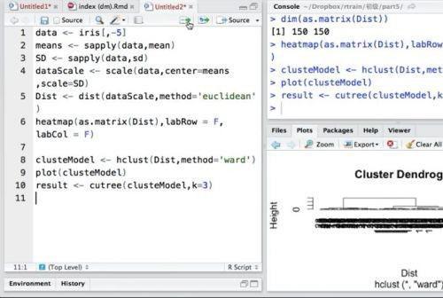 R语言数据分析实战 R语言数数据分析实战 R语言学习基础+进阶实战数据分析课程